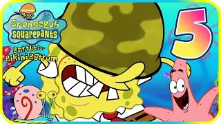 SpongeBob Battle for Bikini Bottom Walkthrough Part 5 (PS2) Boss + Poseidome ᴴᴰ