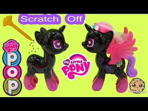 My Little Pony Pop Princess Cadance Design-A-Pony Kit Scratch Off Custom Designs - Cookieswirlc - UCelMeixAOTs2OQAAi9wU8-g