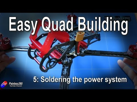Quad Build for Beginners (S8.5): Soldering the power system - UCp1vASX-fg959vRc1xowqpw