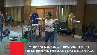 Mirabai Looking Forward To Lift 210 Kg Before The 2020 Tokyo Olympics