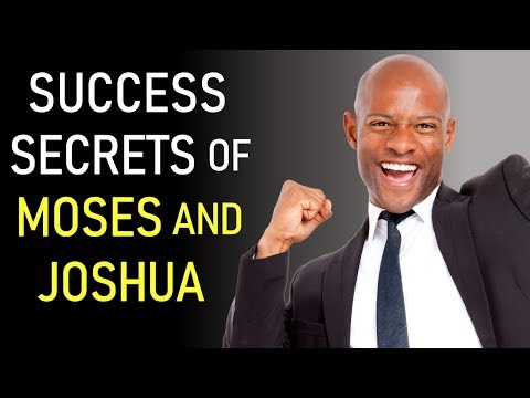 SUCCESS SECRETS OF MOSES AND JOSHUA - BIBLE PREACHING  PASTOR SEAN PINDER