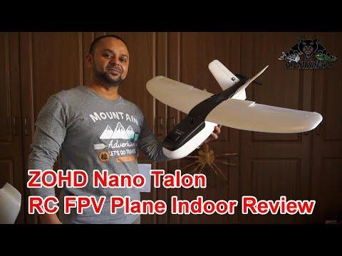 ZOHD Nano Talon V-Tail Electric RC FPV Plane with Stabilizer - UCblfuW_4rakIf2h6aqANefA