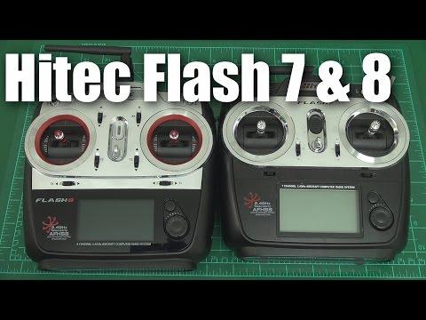 Hitec Flash 7 and Flash 8 radios (a quick look) - UCahqHsTaADV8MMmj2D5i1Vw