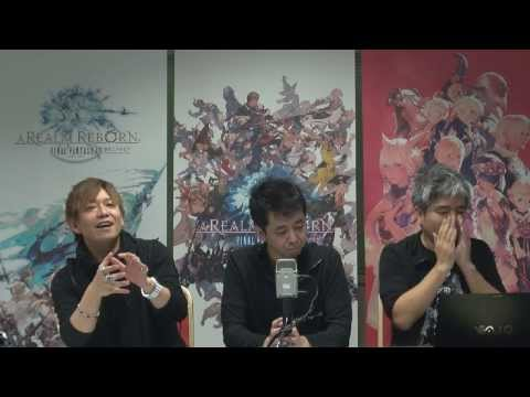 FINAL FANTASY XIV A Realm Reborn with Director Producer Naoki
