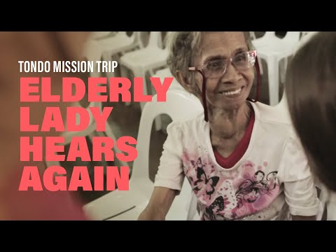 Elderly Lady Hears Again  New Creation Church