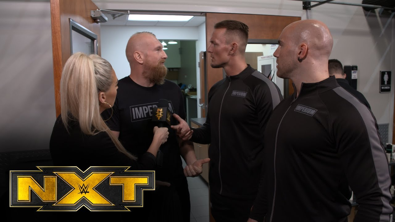 Alexander Wolfe isn't cleared to compete tonight: WWE Network Exclusive, May 11, 2021