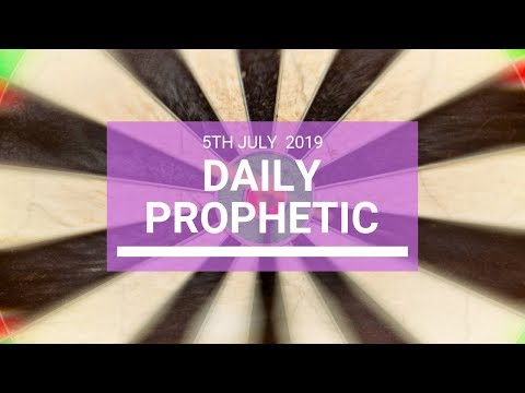 Daily Prophetic 5 July 2019 Word 4