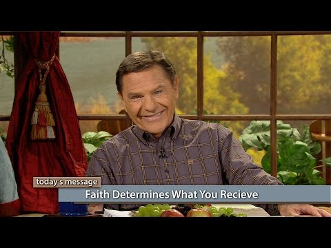 Faith Determines What You Receive