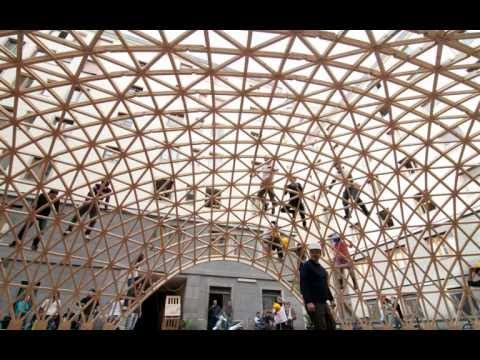 Digital Form-Finding of Timber Post-formed Gridshell