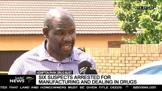 6 nabbed in Kempton Park for drug manufacturing, dealing