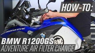 Smontaggio filtro aria Bmw R1200GS ADVENTURE