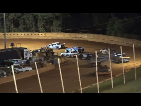 Stock 4a at Winder Barrow Speedway September 11th 2021 - dirt track racing video image