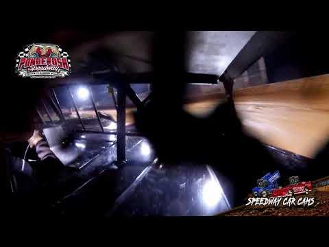 #87 Jarrod Carey - Crate Late Model - 8-6-21 Ponderosa Speedway - In-Car Camera - dirt track racing video image