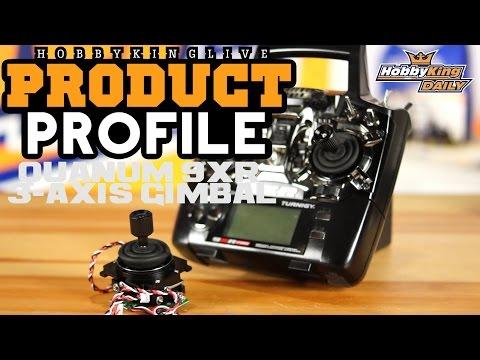 Quanum 9XR 3-Axis Gimbal - HobbyKing Product Profile - UCkNMDHVq-_6aJEh2uRBbRmw
