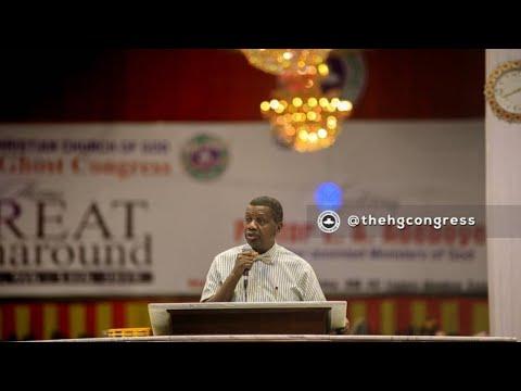 PASTOR E.A ADEBOYE SERMON - RCCG CONGRESS 2019 - THE POWER OF INSPIRATION
