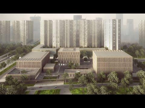 Longhua Art Museum and Library, Shenzhen, China