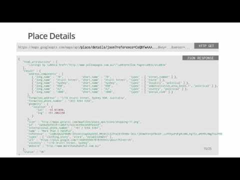 Getting started with the Google Places API - UC_x5XG1OV2P6uZZ5FSM9Ttw