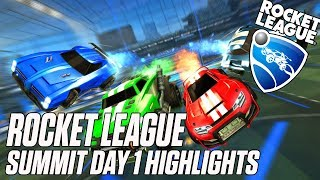 Rocket League Summit Day 1 highlights | ESPN Esports