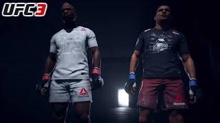 A MINHA PRIMEIRA DERROTA NO UFC FOI ROUBADO !! | UFC 3 MODO CARREIRA #06