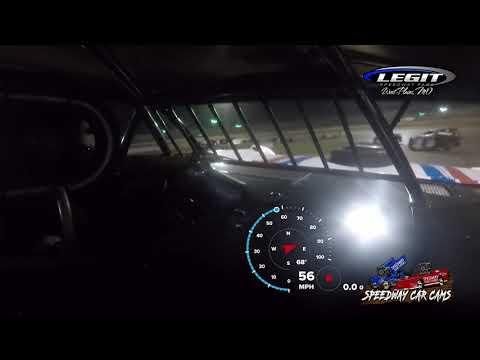 #52 Mitch Keeter - Cash Money Late Model - 5-29-2021 Legit Speedway Park - In Car Camera - dirt track racing video image