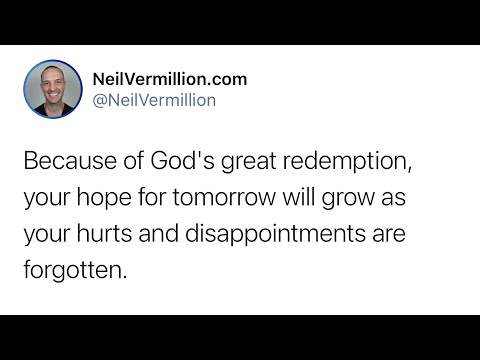 Hurts And Disappointments Are Forgotten - Daily Prophetic Word