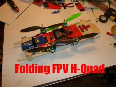 """Woody"" Folding FPV Platform H-Quad w/ KK2 FC 1.5 firmware - UCUbqQ9ySTFSLGS0we2tDzlw"