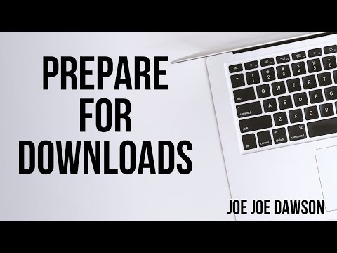 Prepare for Prophetic Downloads - Joe Joe Dawson