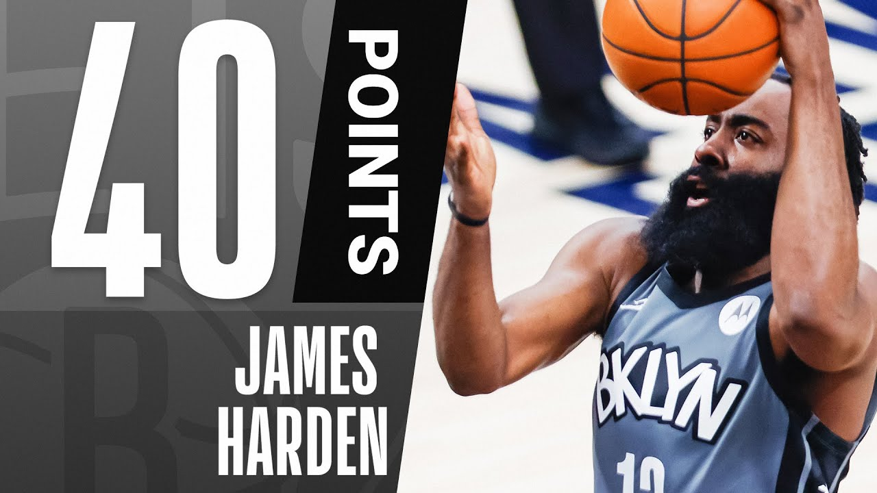 James Harden Drops 40 PTS, 10 REB & 15 AST In W!