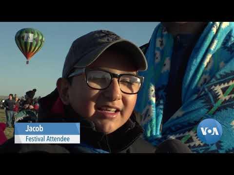Albuquerque Balloon Festival Draws Massive Crowds