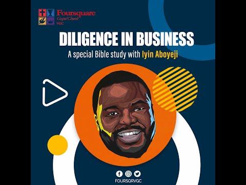 Diligence in Business with Iyin Aboyeji