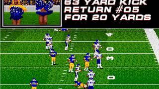 College Football USA '97 (video 1,484) (Sega Megadrive / Genesis)