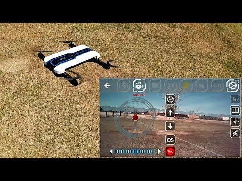 JJRC H61 Optical Flow Folding Selfie Drone Flight Test Review - UC90A4JdsSoFm1Okfu0DHTuQ