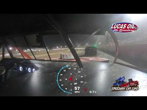 #00 Scott Bryant - Usra Modified - 10-8-2021 Lucas Oil Speedway - In Car Camera - dirt track racing video image