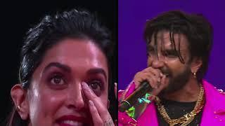 रणवीर सिंह की बात सुनकर दीपिका की आंखों में आंसू  ! Deepika Padukone Cries After Ranveer's Speech