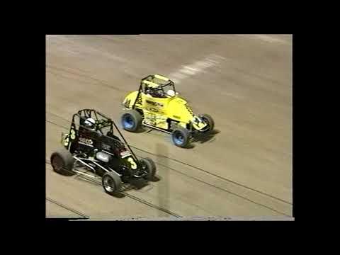 Compact Speedcars: A-Main - Archerfield Speedway - 09.02.2001 - dirt track racing video image