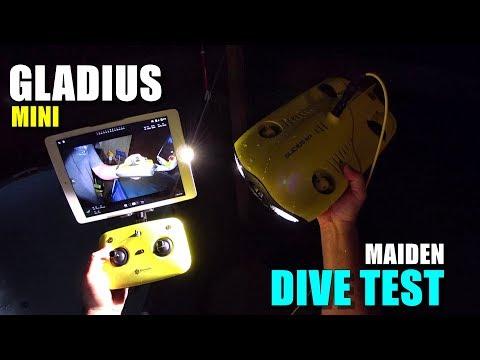GLADIUS Mini 4K Underwater ROV Maiden DIVE TEST Review - [Controls, FPV, Lights, Pros & Cons] - UCVQWy-DTLpRqnuA17WZkjRQ
