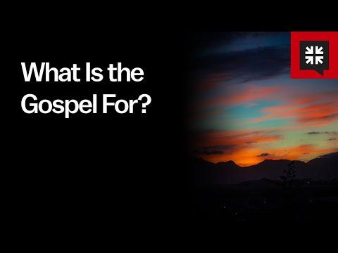 What Is the Gospel For? // Ask Pastor John