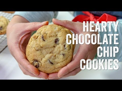 Hearty Chocolate Chip Cookies (Levain Bakery Inspired) Recipe : Season 5, Ep. 6 - Chef Julie Yoon