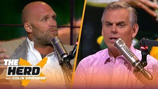 Kyle Turley talks Kyler Murray's potential, Andrew Luck's injury, Cowboys & more   NFL   THE HERD
