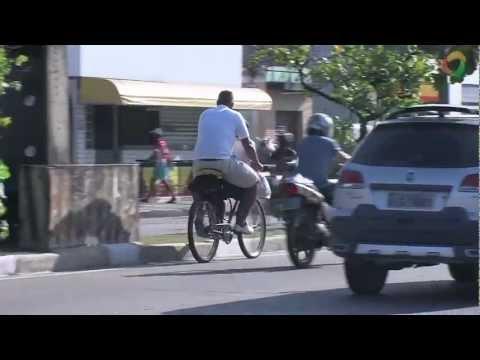 Imagem post: Ciclistas também devem ficar atentos as leis de trânsito