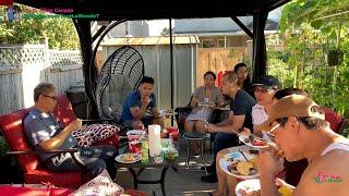 Cả Nhà Tout Le Monde Sum Vầy Ăn BBQ Ngoài Vườn   Cuộc Sống Canada 🇨🇦373》 Family Backyard Picnic