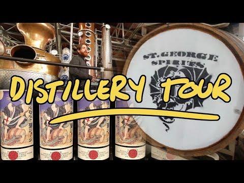 St George Spirits Distillery Tour - Whisky Vlog - UC8SRb1OrmX2xhb6eEBASHjg