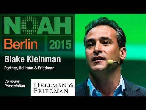 Blake Kleinman, Hellman & Friedman - NOAH15 Berlin - UCNd0qqcBpuXCWPM76lDUxqg