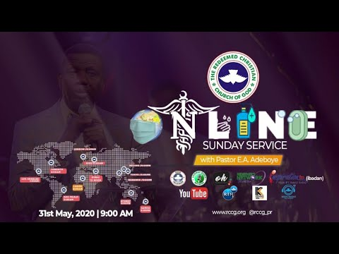 RCCG MAY 31st 2020  PASTOR E.A ADEBOYE SPECIAL THANKSGIVING SERVICE