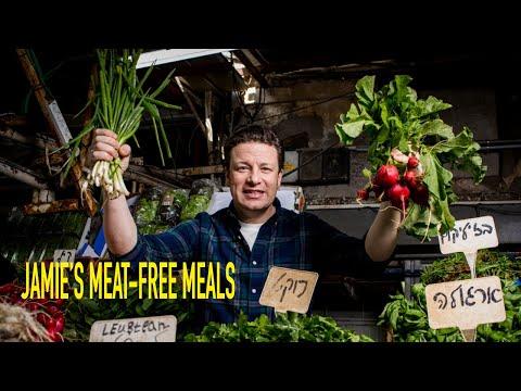 Jamie's Meat Free Meals | Asparagus Quiche & Soup, My Veggie Pasties, Summer Veg Blanket Pie