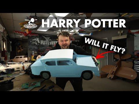 I will build a flying Harry Potter car... - UC9zTuyWffK9ckEz1216noAw