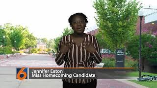Miss Homecoming Candidate Jennifer Eaton