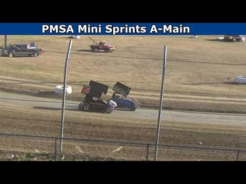 Grays Harbor Raceway, July 24, 2021, PMSA Mini Sprints A-Main - dirt track racing video image