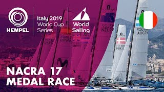 Nacra 17 Medal Race | Hempel World Cup Series Genoa 2019