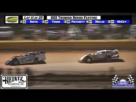 602 Thunder Series Feature - Lavonia Speedway 6/4/21 - dirt track racing video image